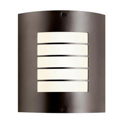 Kichler Lighting 10640AZ Indoor/Outdoor Wall 1Lt FL