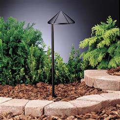 Kichler Lighting 15315BKT Path & Spread 1-Lt 12V