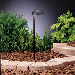 Kichler Lighting 15423BKT Path & Spread 1-Lt 12V