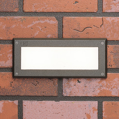 Kichler Lighting 15774AZT27R Deck LED 2W Brick light Lndscp