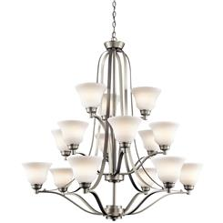 Kichler Lighting 1789NI Chandelier 15Lt
