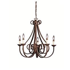 Kichler Lighting 2021TZ Chandelier 5Lt