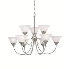 Kichler Lighting 2077NI Chandelier 9Lt