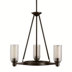 Kichler Lighting 2343OZ Chandelier 3Lt