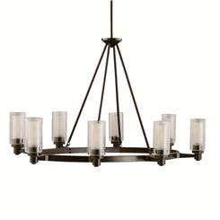 Kichler Lighting 2345OZ Oval Chandelier 8Lt