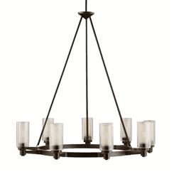 Kichler Lighting 2346OZ Circolo Chandelier 9Lt