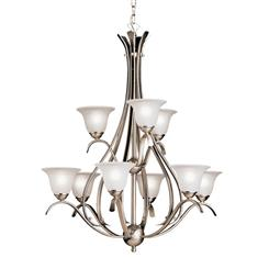 Kichler Lighting 2520NI Chandelier 9Lt
