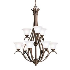 Kichler Lighting 2520TZ Chandelier 9Lt