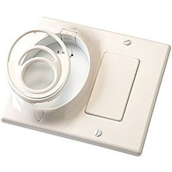 Kichler Lighting 370011WH Dual Gang CoolTouch Wall Plate