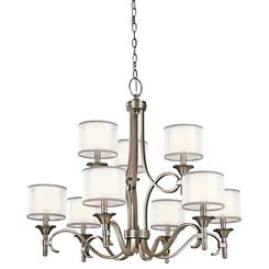 Kichler Lighting 42382AP Chandelier 9Lt