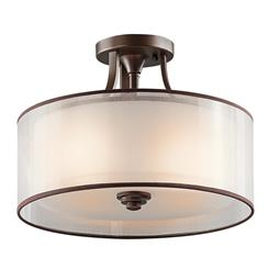 Kichler Lighting 42386MIZ Semi Flush 3Lt