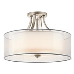 Kichler Lighting 42387AP Semi Flush 4Lt
