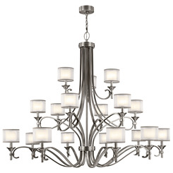 Kichler Lighting 42396AP Chandelier 18Lt