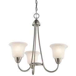 Kichler Lighting 42883NI Chandelier 3Lt