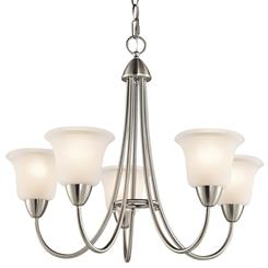 Kichler Lighting 42884NI Chandelier 5Lt