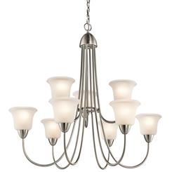 Kichler Lighting 42885NI Chandelier 9Lt