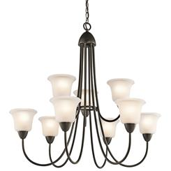 Kichler Lighting 42885OZ Chandelier 9Lt
