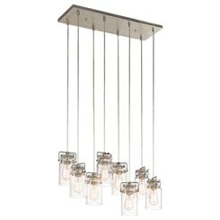 Kichler Lighting 42890NI Linear Chandelier 8Lt