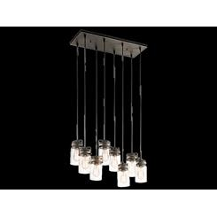 Kichler Lighting 42890OZ Linear Chandelier 8Lt