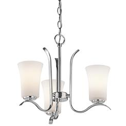 Kichler Lighting 43073CH Mini Chandelier 3Lt
