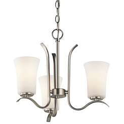 Kichler Lighting 43073NI Mini Chandelier 3Lt