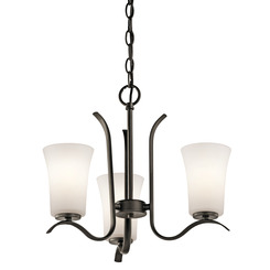 Kichler Lighting 43073OZ Mini Chandelier 3Lt