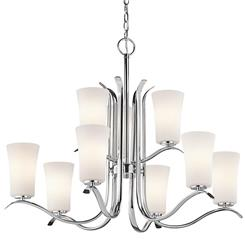 Kichler Lighting 43075CH Chandelier 9Lt