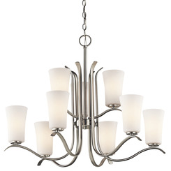 Kichler Lighting 43075NI Chandelier 9Lt