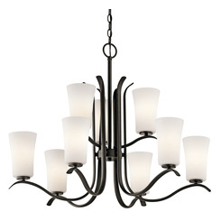 Kichler Lighting 43075OZ Chandelier 9Lt