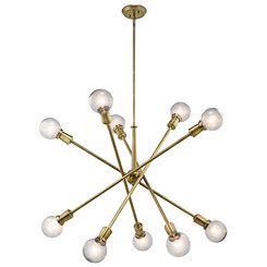 Kichler Lighting 43119NBR Chandelier 10Lt