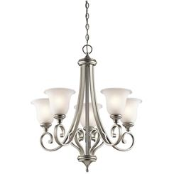 Kichler Lighting 43156NI Chandelier 5Lt