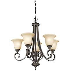 Kichler Lighting 43156OZ Chandelier 5Lt