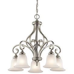 Kichler Lighting 43158NI Chandelier 5Lt