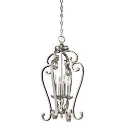 Kichler Lighting 43165NI Large Foyer Pendant 4Lt