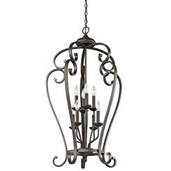 Kichler Lighting 43166OZ Foyer Chandelier 8Lt