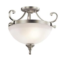 Kichler Lighting 43169NI Semi Flush 2Lt