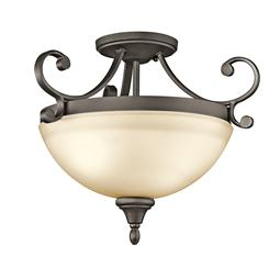 Kichler Lighting 43169OZ Semi Flush 2Lt