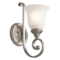Kichler Lighting 43170NI Wall Sconce 1Lt