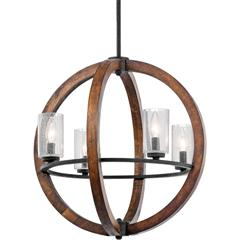 Kichler Lighting 43185AUB Chandelier 4Lt