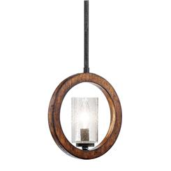 Kichler Lighting 43189AUB Mini Pendant/Wall 1Lt