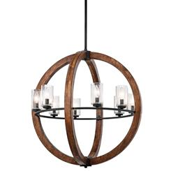 Kichler Lighting 43190AUB Chandelier 8Lt