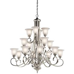 Kichler Lighting 43192NI Chandelier 16Lt