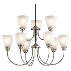 Kichler Lighting 43639NI Chandelier 9Lt