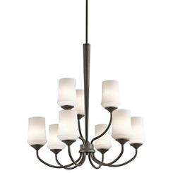 Kichler Lighting 43666OZ Chandelier 9Lt