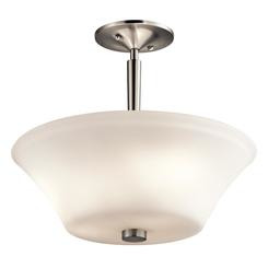 Kichler Lighting 43669NI Semi Flush 3Lt