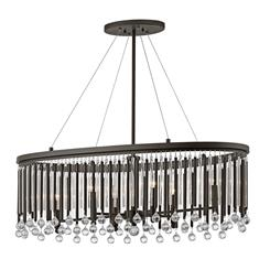 Kichler Lighting 43725ESP Oval Chandelier/Pendant 6Lt