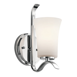 Kichler Lighting 45374CH Wall Sconce 1Lt
