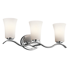 Kichler Lighting 45376CH Bath 3Lt
