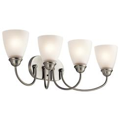 Kichler Lighting 45640NI Bath 4Lt