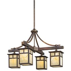 Kichler Lighting 49091CV Indoor/Outdoor Chandelier 4Lt